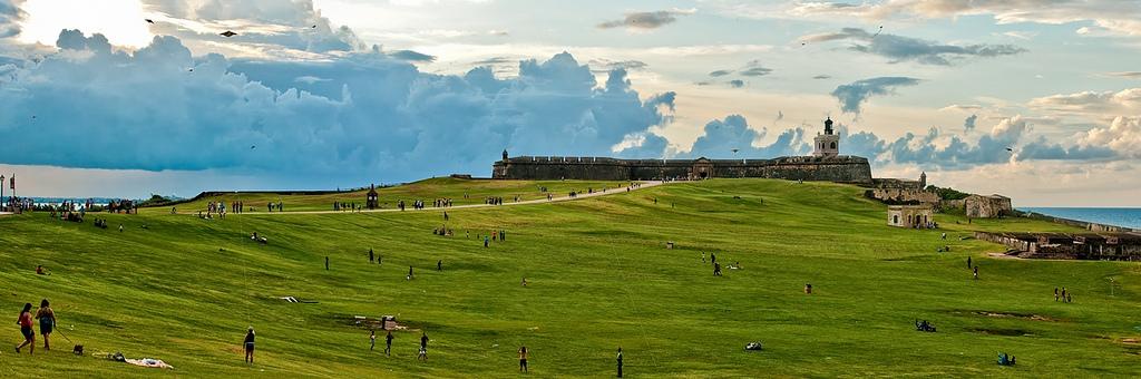 Vista de La Fortaleza, San Juan